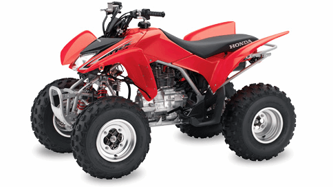 Parts for TRX250EX 2008